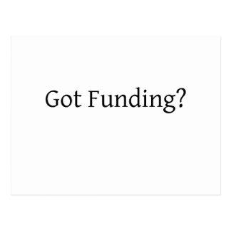 Got Funding? Postcard