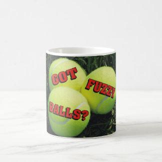 Got Fuzzy Balls? Tennis Coffee Mug