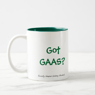 Got GAAS? Two-Tone Coffee Mug