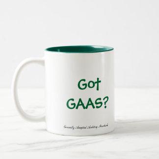 Got GAAS? Two-Tone Coffee Mug