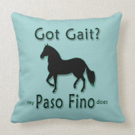 Got Gait? My Paso Fino Does Pillows