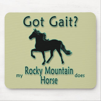 Got Gait? My Rocky Mountain Horse Does Mousepads