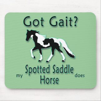 Got Gait? My Spotted Saddle Horse Does Mouse Pads