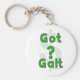 Got Galt Basic Round Button Keychain