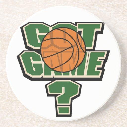 Got Game Basketball Coasters