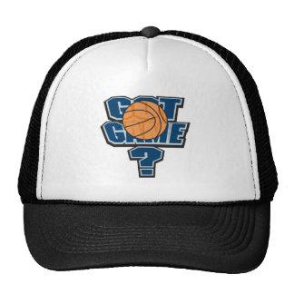 got game basketball design trucker hat