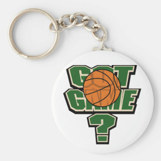 Got Game Basketball Keychain