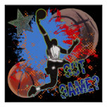 GOT GAME - BASKETBALL POSTER