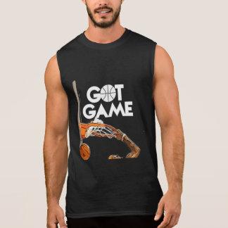 Got Game Basketball Sleeveless T-Shirt