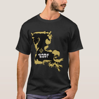 GOT GAME BLACK AND GOLD T-Shirt