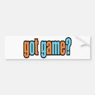 Got Game? Bumper Sticker
