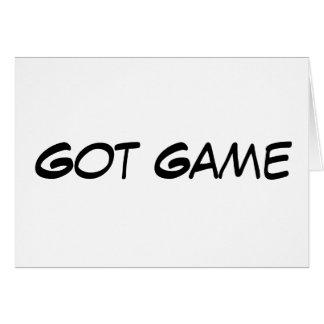 Got Game - Customized - Customized Card