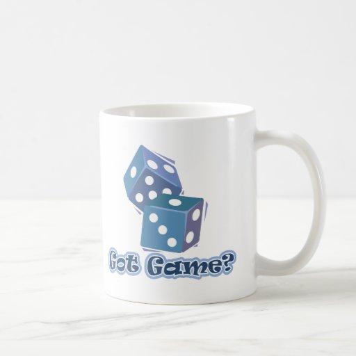 Got Game? dice Classic White Coffee Mug