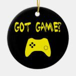 Got Game?  Funny Gamer Ornament