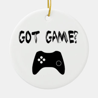Got Game Funny Gamer Ornament