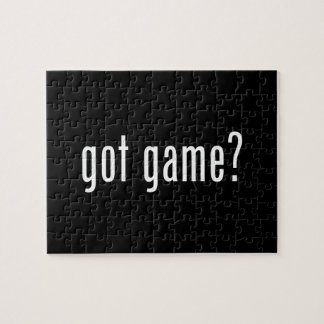 got game? jigsaw puzzle