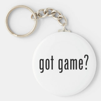 got game? keychain
