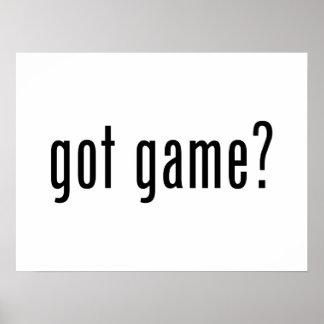 got game? poster