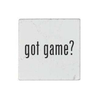 got game? stone magnet