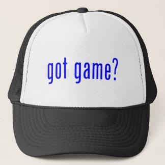got game? trucker hat