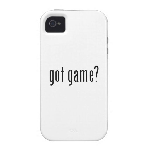 got game? vibe iPhone 4 cases