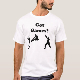 Got Games? Video Game T-Shirt