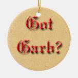 Got Garb? Ornament