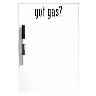 got gas? dry erase board