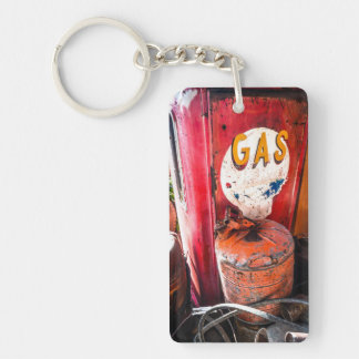 Got Gas? Single-Sided Rectangular Acrylic Keychain