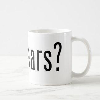 got gears? classic white coffee mug