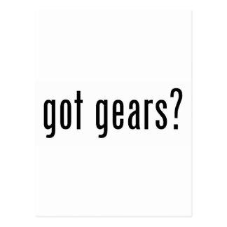 got gears? postcard