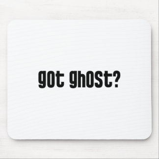 Got Ghost? Mouse Pad