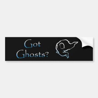 Got Ghosts? Bumper Sticker