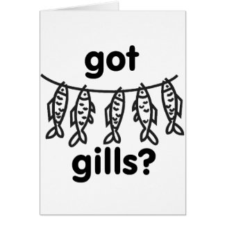 got gills stationery note card
