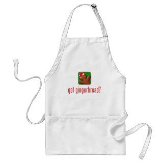 got gingerbread? adult apron