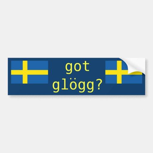 """got glogg?"" bumper stickers"
