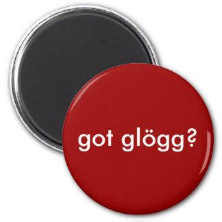 got glogg? Funny Scandinavian Drinking 2 Inch Round Magnet