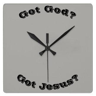 Got God? Got Jesus? Clock