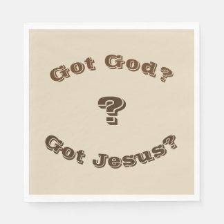 Got God? Got Jesus? Napkins