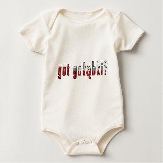 got golabki? Flag Baby Bodysuit