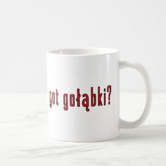 got golabki? classic white coffee mug