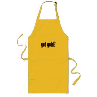 got gold? long apron