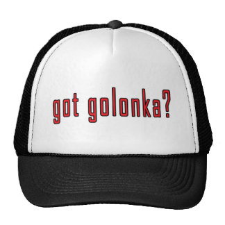 got golonka? trucker hat