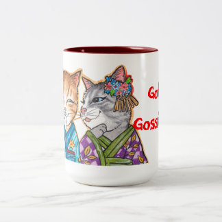 Got Gossip? Two-Tone Coffee Mug