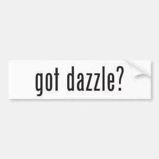 GOT got dazzle? Car Bumper Sticker