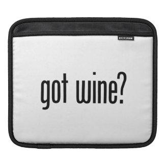 got got wine iPad sleeves