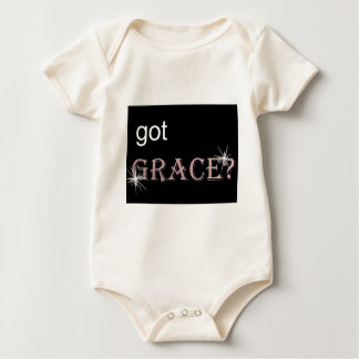 Got Grace black .gif Baby Bodysuit