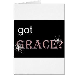 Got Grace black .gif Card