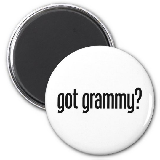 got grammy magnet