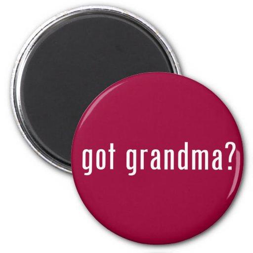 got grandma? refrigerator magnet